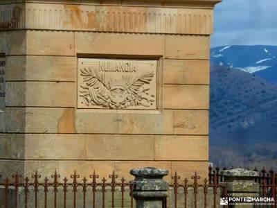 Yacimiento Numancia y Villa Almazán;ciudad encantada de tamajon embalse de burguillo tiatordos
